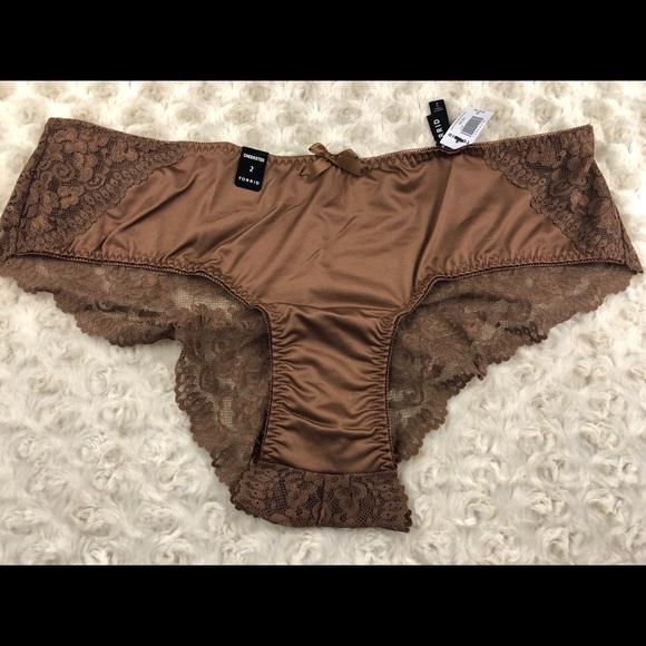 89c8fa281b2b torrid Intimates & Sleepwear | Size 2 Microfiber Lace Cheekster ...